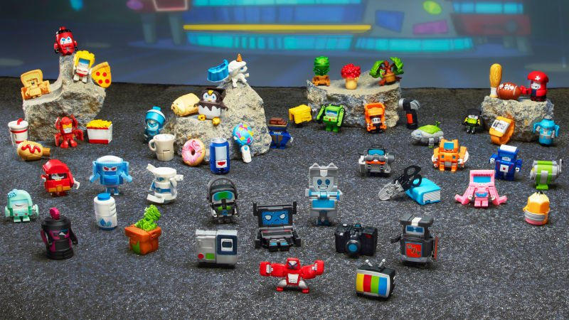 Transformers change into tiny, cheap collectibles: bit.ly/2EMPvOq