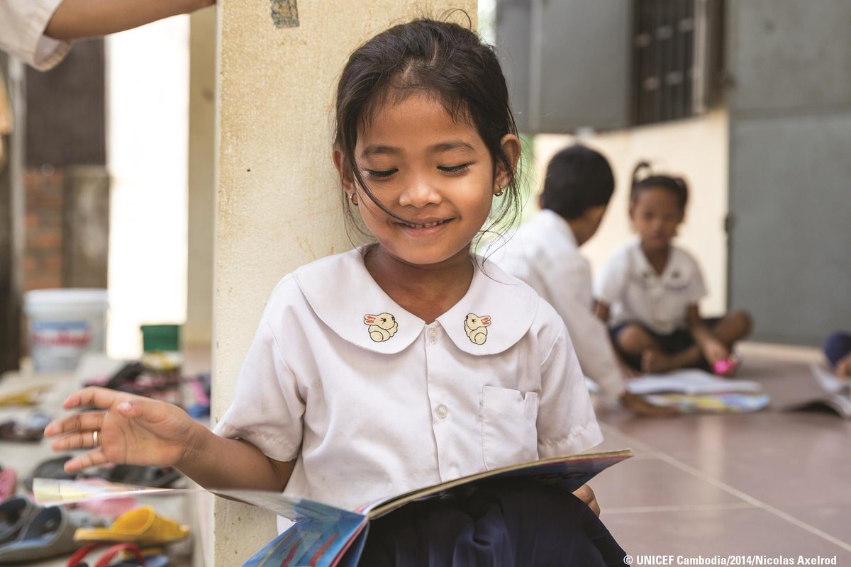When you invest in one. You invest in all.  #ForEveryChild, education.