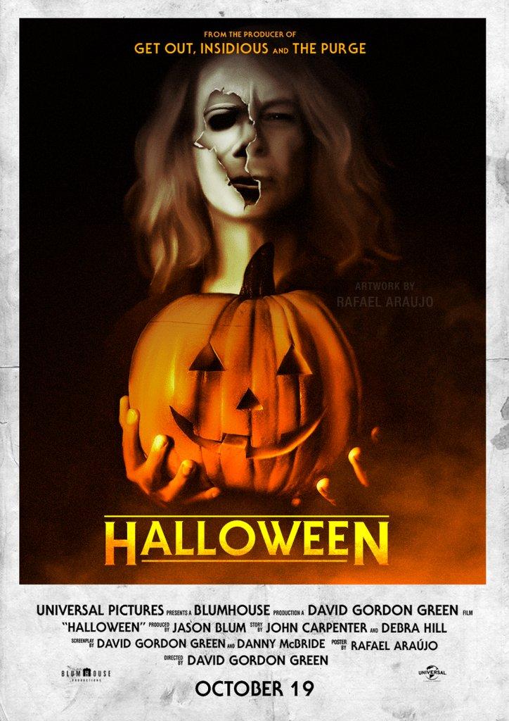 Halloween Movie Poster 2018.Poster S Paradise On Twitter Halloween 2018 768 X 1086 Movie