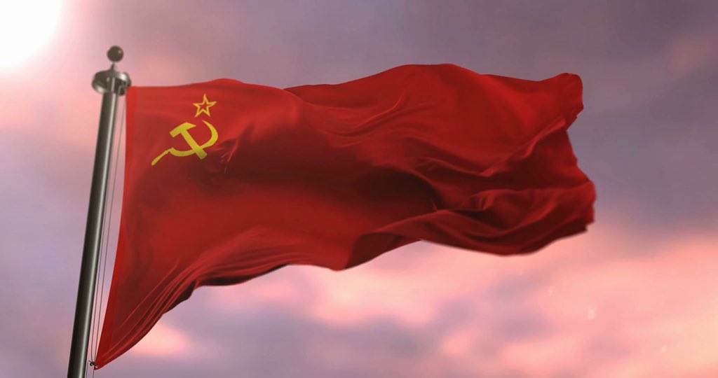 Image result for soviet flag waving gif