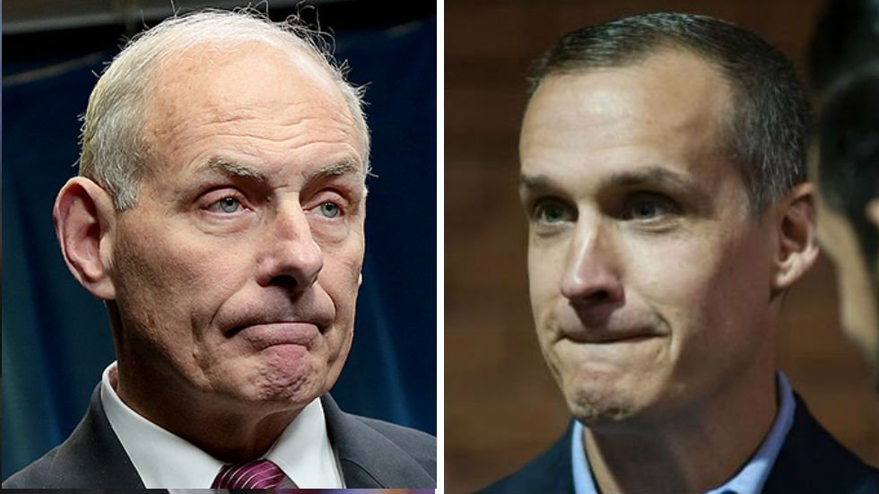 JUST IN: Secret Service had to break up fight between Kelly and Lewandowski: report https://t.co/rXFxqB6pJW https://t.co/ftQbED1HFe