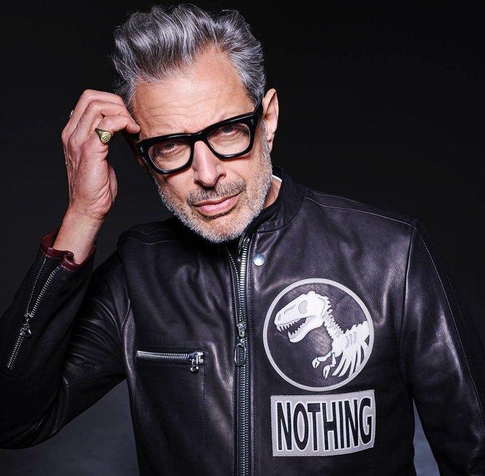 Happy Birthday Jeff Goldblum! You beautiful sexy beast! You are a national treasure & I love you!!!