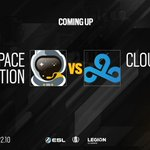 Image for the Tweet beginning: Coming up: @SpacestationGG vs. @Cloud9.