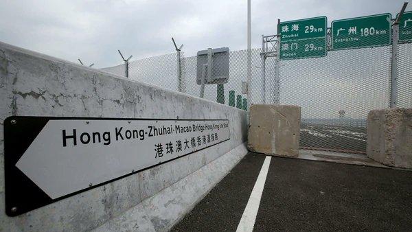 China inauguró el puente marítimo más largo del mundo https://t.co/361i5dWqgR