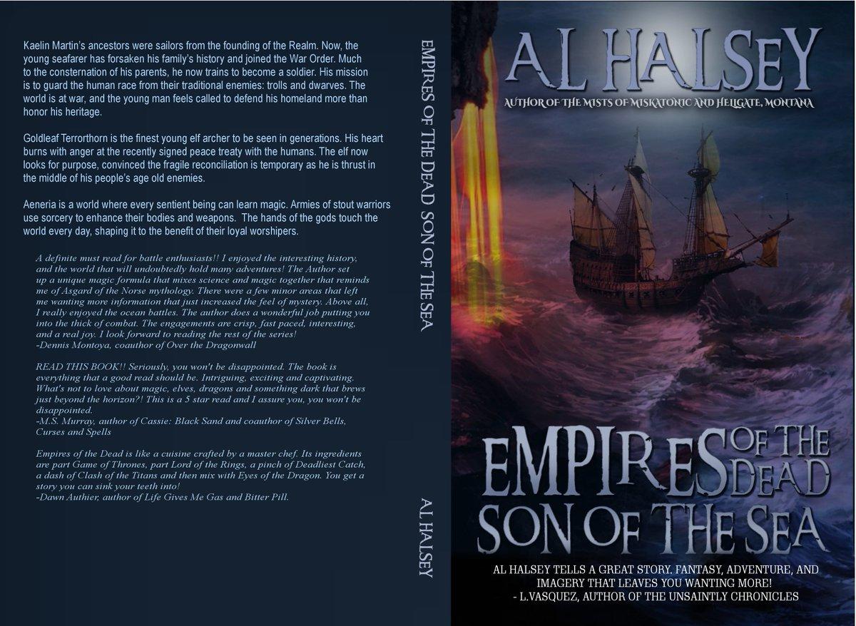 Al Halsey, Author on Twitter: