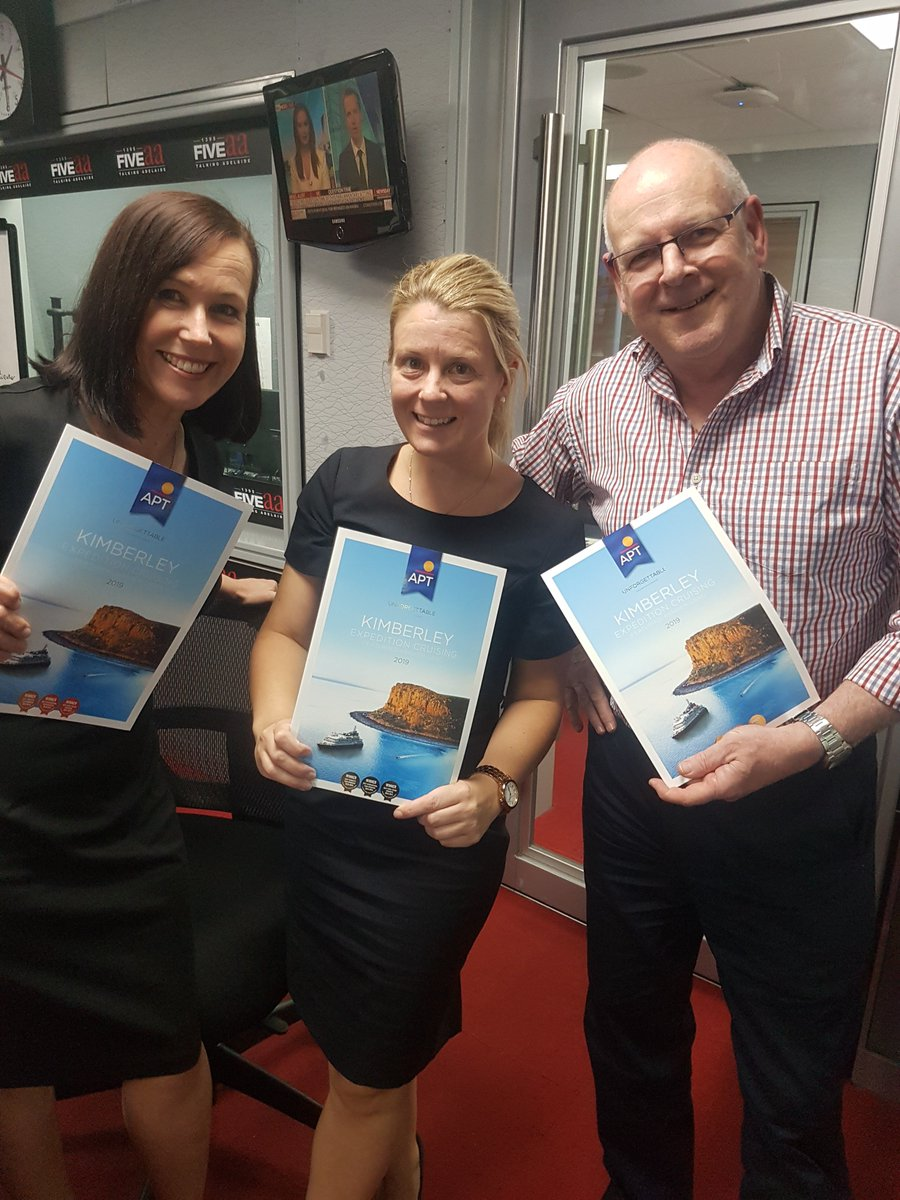 NOW: Michelle Mickan and special guest Georgie Symonds @APTouring with @AlanHickey5aa in the studio for Travel Talk thanks to @PhilHoffmannTvl taking your calls 82230000