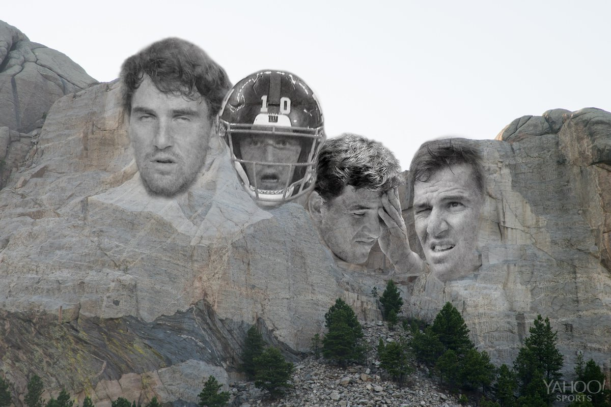The Giants start to the season might be 'un-monumental'  But the Eli faces live on forever 😂