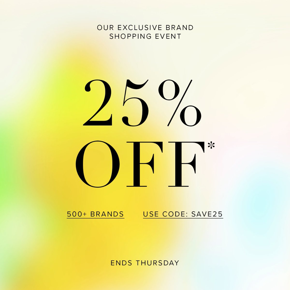 OUR BIGGEST BRAND EVENT: 25% OFF* 🛍 Use code '25OFF' at checkout. Ends Thurs.  Shop Sale > https://t.co/YGgcuwuEj2 *Ends 11:59PM AEDT on 25.10.18. Selected styles and colours listed. #THEICONICsale #onlineshopping https://t.co/T7DZVAdxya