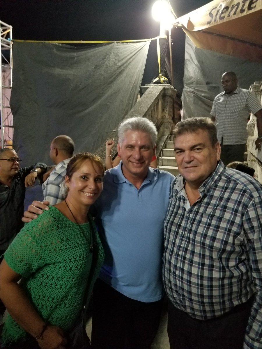 Diaz-Canel Attended a Concert at the University of Havana