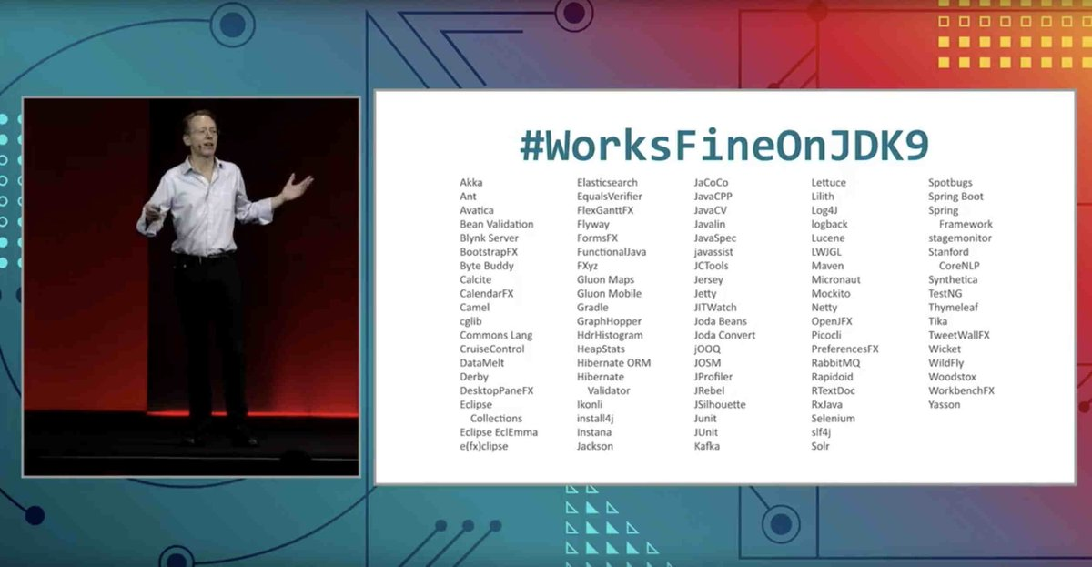 Hashtag #workslikeheavenonjdk11 sur Twitter