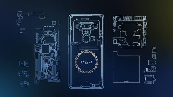 Bitcoin fiyatına endeksli HTC Exodus 1 blockchain telefonu duyuruldu ➤ Photo