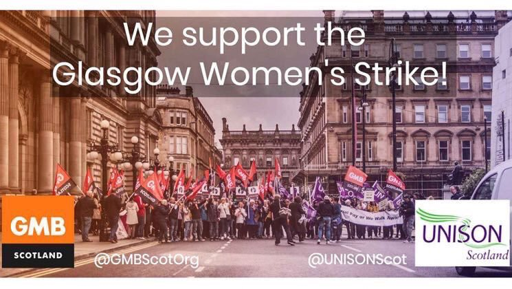 #SolidarityWithOurScottsSisters  And What They're Fighting For SoHalf The WorkingPopulation Can't Be Exploited any More Making #EqualPayForAllGenders #PartOfUKEmplymentLaw@gmbnwi @PaulMaccaGMB  @radicallywomen @neilsmithgmb  @underoneskygmb @GMBCampaigns  #GlasgowWomensStrikepic.twitter.com/flQad0S3wT