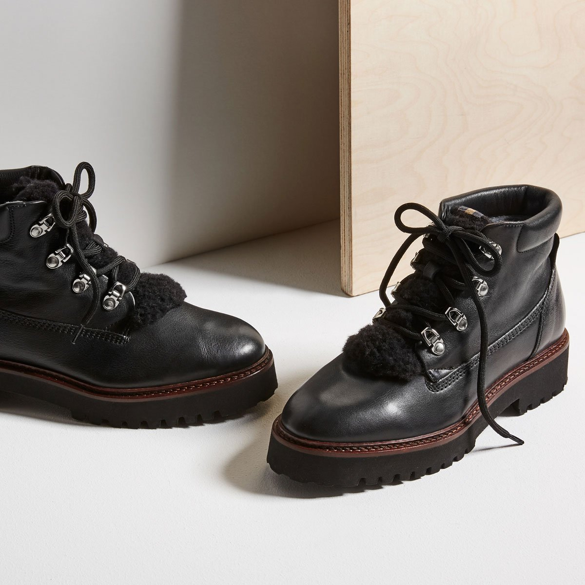 hiking boots to platform sneakers