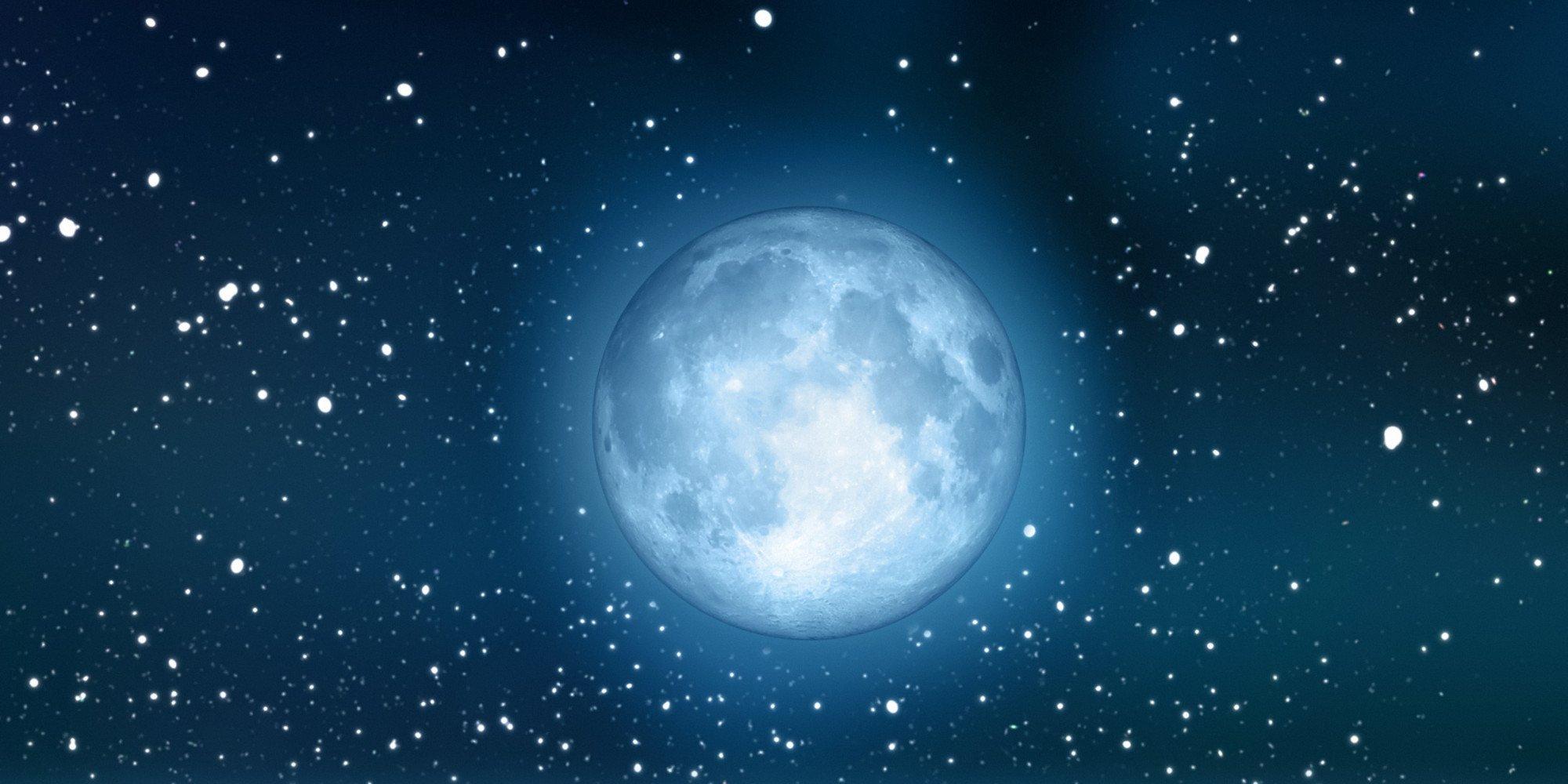 Картинки луна и звезды красивые