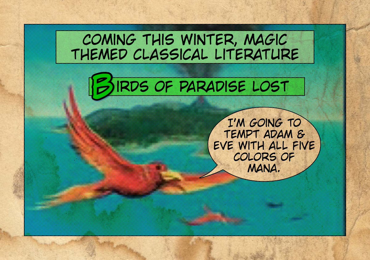 """Tales from the Pit"" #1911 #TftP #mtg #WotCStaff"