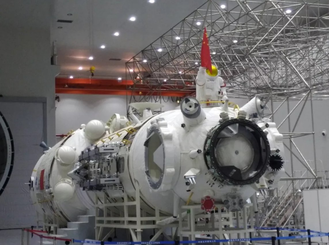 china space station - HD 1143×854