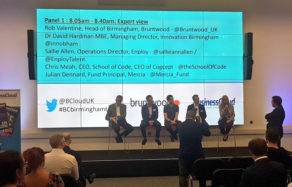 test Twitter Media - 'We've found that employers think attitude is the most important thing when recruiting graduates' - @sallieannallen of @EnployTalent sharing the importance of teaching #softskills to the next generation to ensure Birmingham's future success #BCBirminghamtech https://t.co/sdDaL8HRwn