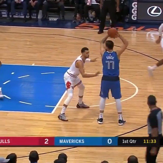Luka Doncic (19 PTS) & Deandre Jordan (18 PTS) come up big for the @dallasmavs in their win vs. CHI. #MFFL https://t.co/gQtk2z6E2c