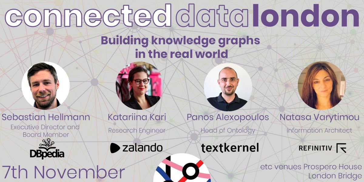 Connected Data LDN on Twitter: