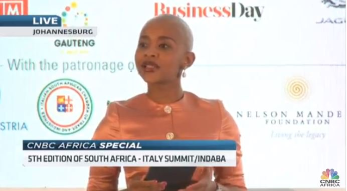 [ON AIR] #SAITS18: Tune in on #CNBCAfrica for the 5th edition of South Africa - Italy Summit/Indaba that aims to build an inclusive and influential community of leaders. DStv 410 @TEHAmbrosetti @GautengProvince