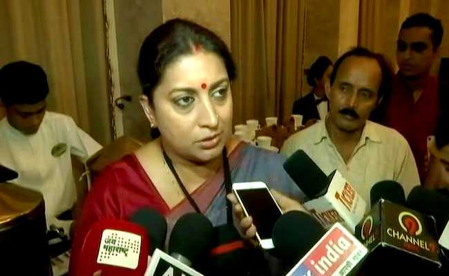 'Will you take blood-soaked pad to friend's?': Smriti Irani on #Sabarimala https://t.co/Ef6vFwlG2i