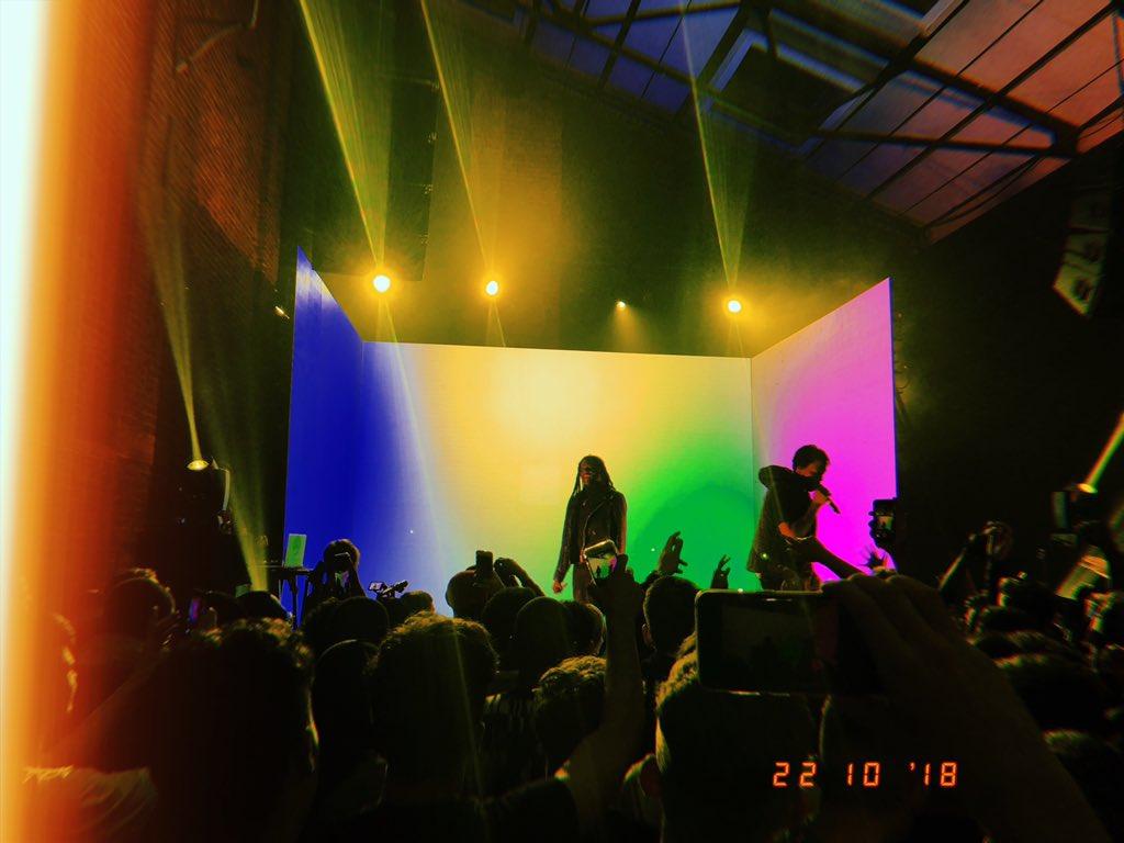 last nights incredible show cc: @officialAvelino 🔥
