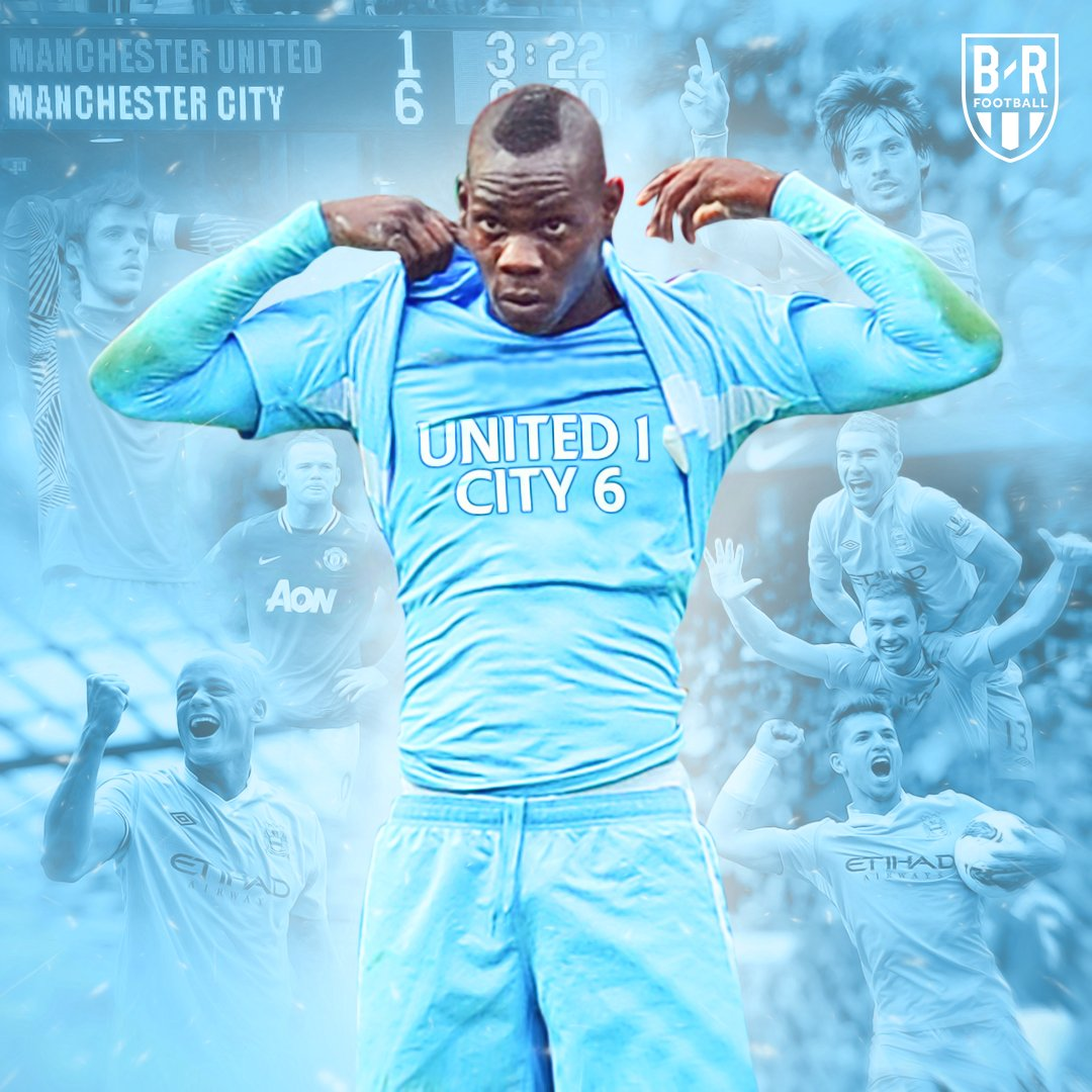 Seven years ago today, Manchester City embarrassed their neighbours at Old Trafford 🙃
