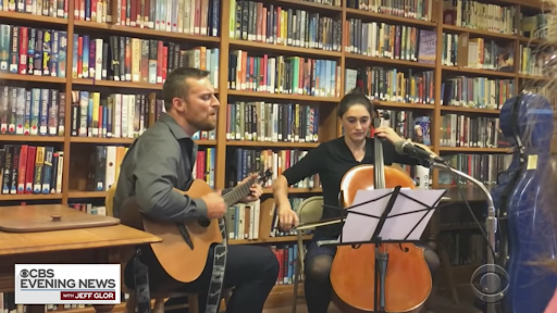 WATCH: Political rivals running for Vermont House seat perform musical duet https://t.co/1oTxbjGd0m https://t.co/k6TqXZV8cu