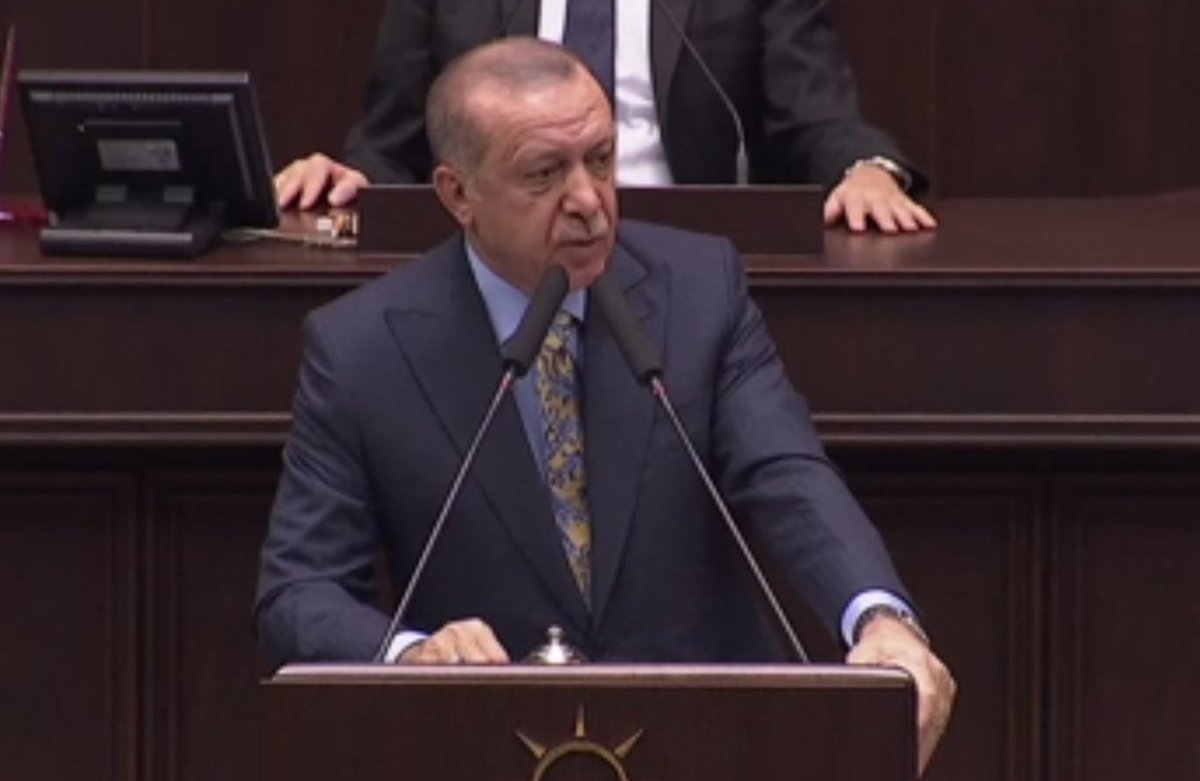 Mr Erdogan says a Saudi team of 15 entered the consulate on the day of the killing and the security cameras in the consulate were removed  Follow updates on the speech here https://t.co/Ams3obGDAH-