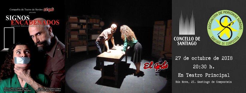 """""""Signos Encadenados"""" - Teatro de Sordos """"El Grito"""" - 27 octubre, Santiago de Compostela DqLxwzSXQAAtCJk"""
