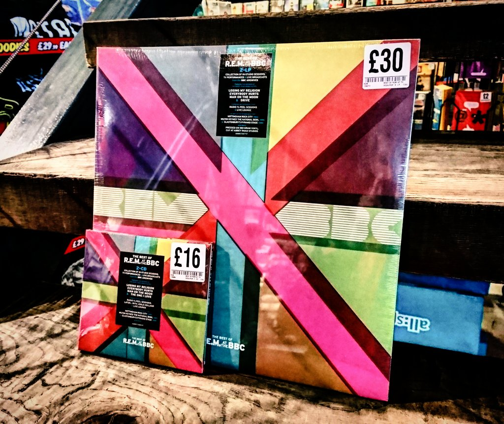 LP-R.E.M.-BEST OF R.E.M 2LP AT THE BBC