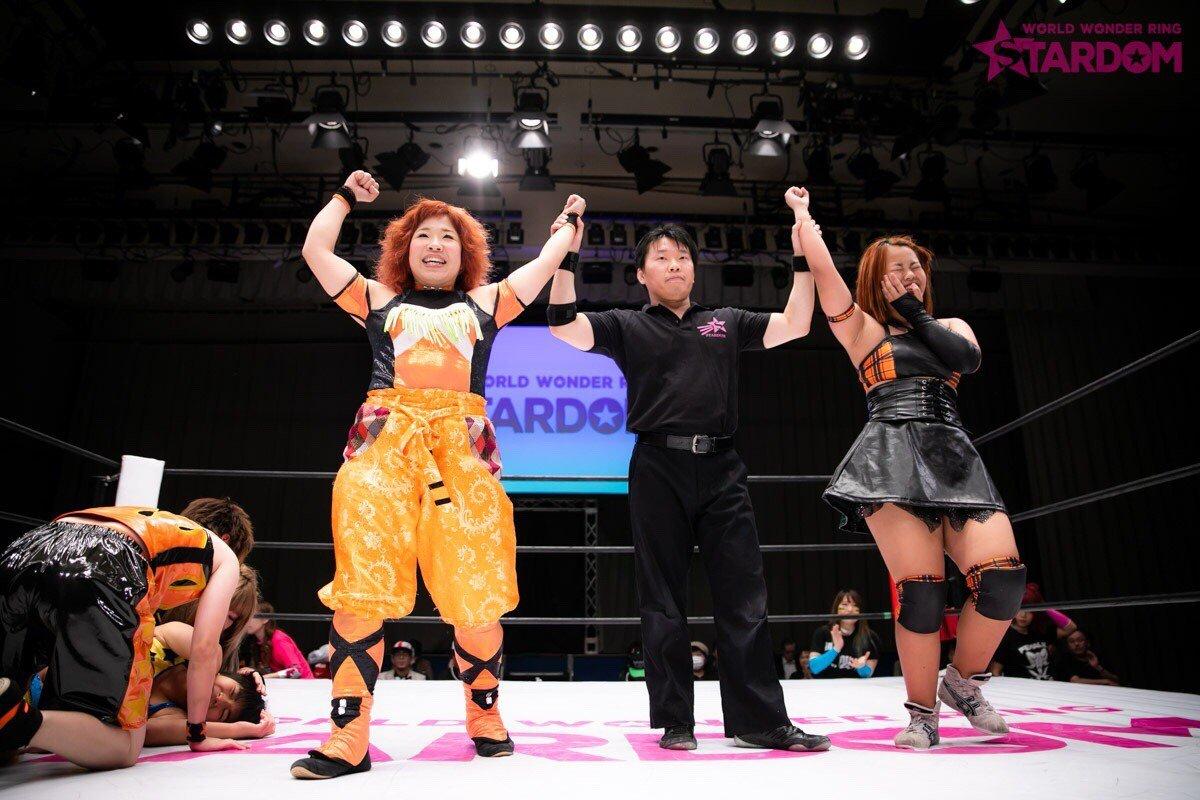 """Stardom:""""True Fight 2018"""" Kagetsu y Watanabe defienden sus títulos 2"""