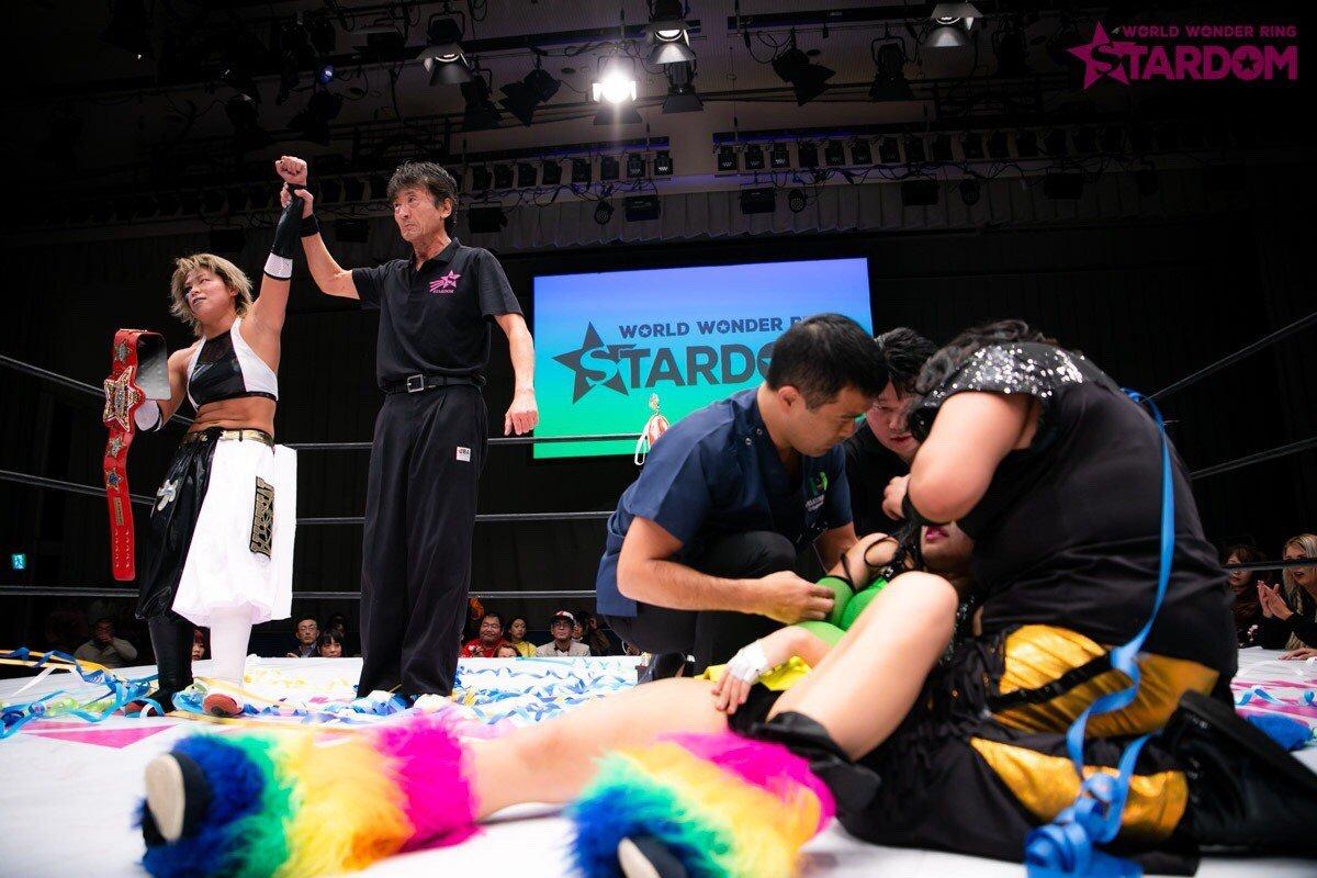 """Stardom:""""True Fight 2018"""" Kagetsu y Watanabe defienden sus títulos 4"""