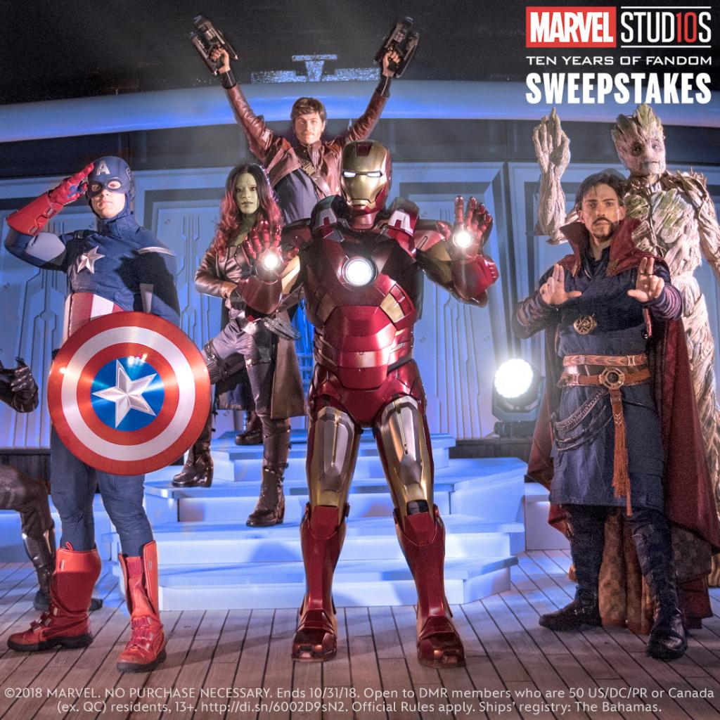 Train with Earth's mightiest heroes during the Marvel Day at Sea as part of a @DisneyCruise vacation! Enter now for your chance to win this epic experience: bit.ly/2OGYuFd