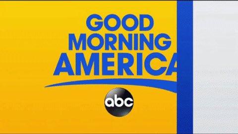 GOOOOOD Morning America!