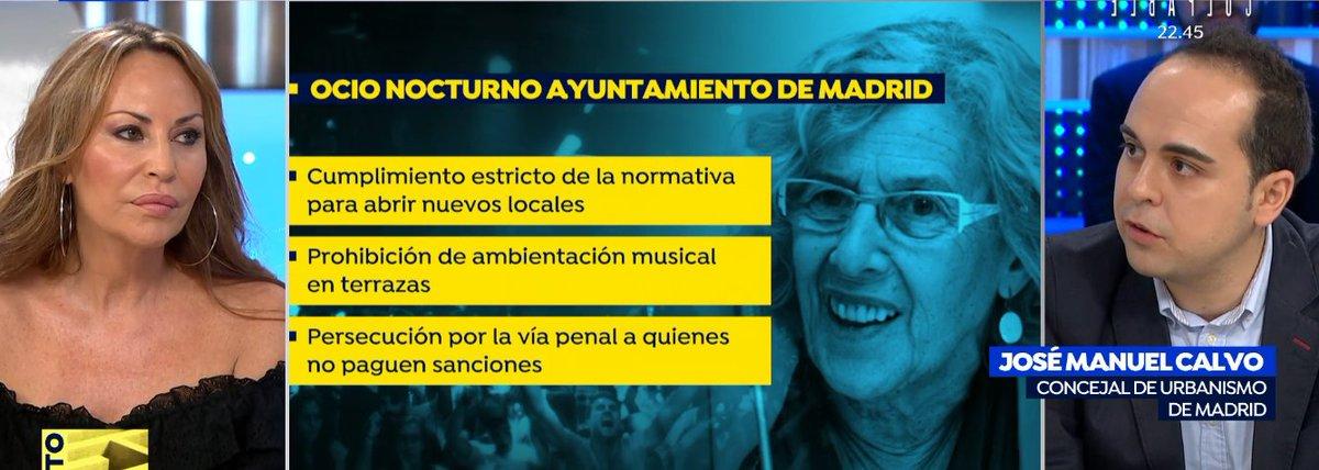 Sonia Moldes, empresaria del ocio nocturno en Madrid, denuncia que se trata de forma diferente a los locales dependiendo de la zona en la que estén. Debatimos sobre ello con @josemanuel_co, concejal de Urbanismo de Madrid ▶https://t.co/897gn9dxri