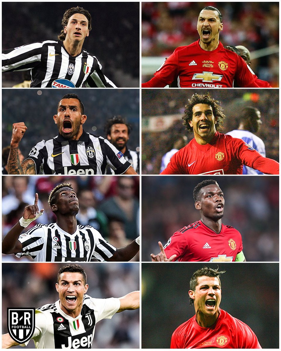 Juve and United have shared some serious talent 🔥