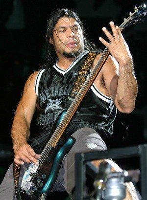 Happy Birthday Today 10/23 to Metallica bassist Robert Trujillo. Rock ON!
