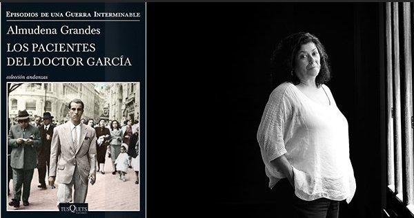 .@AlmudenaGrandes Premio Nacional de Narrativa 2018 por 'Los pacientes del doctor García', una obra que 'ha conseguido un difícil y preciso equilibrio entre lo imaginado y la lealtad a la verdad histórica', según el jurado. ¡Enhorabuena! 🎉🎉👏🏼👏🏼