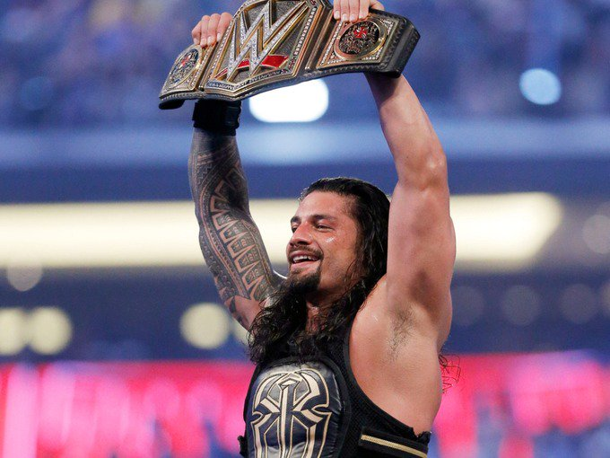 WWE star Roman Reigns gives up his Universal Championship title due to leukaemia #RomanReigns https://t.co/nbGdyhOvAS