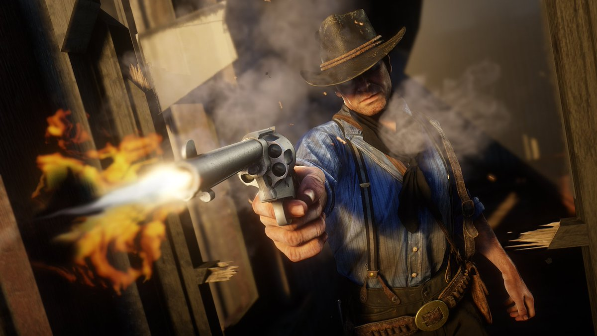 Get ready for Red Dead Redemption 2, just a few days away Launch day details on day one Title Update, reporting feedback and more at: https://t.co/fp6kUFhKP4  Thank you to everyone worldwide who helped make #RDR2 happen! https://t.co/qYlDT6IN6t