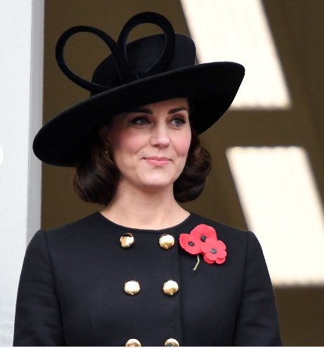 Meghan should wear twelve (12) poppies this year.
