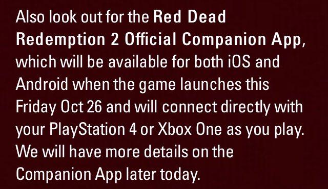 Red Dead 2 Info on Twitter:
