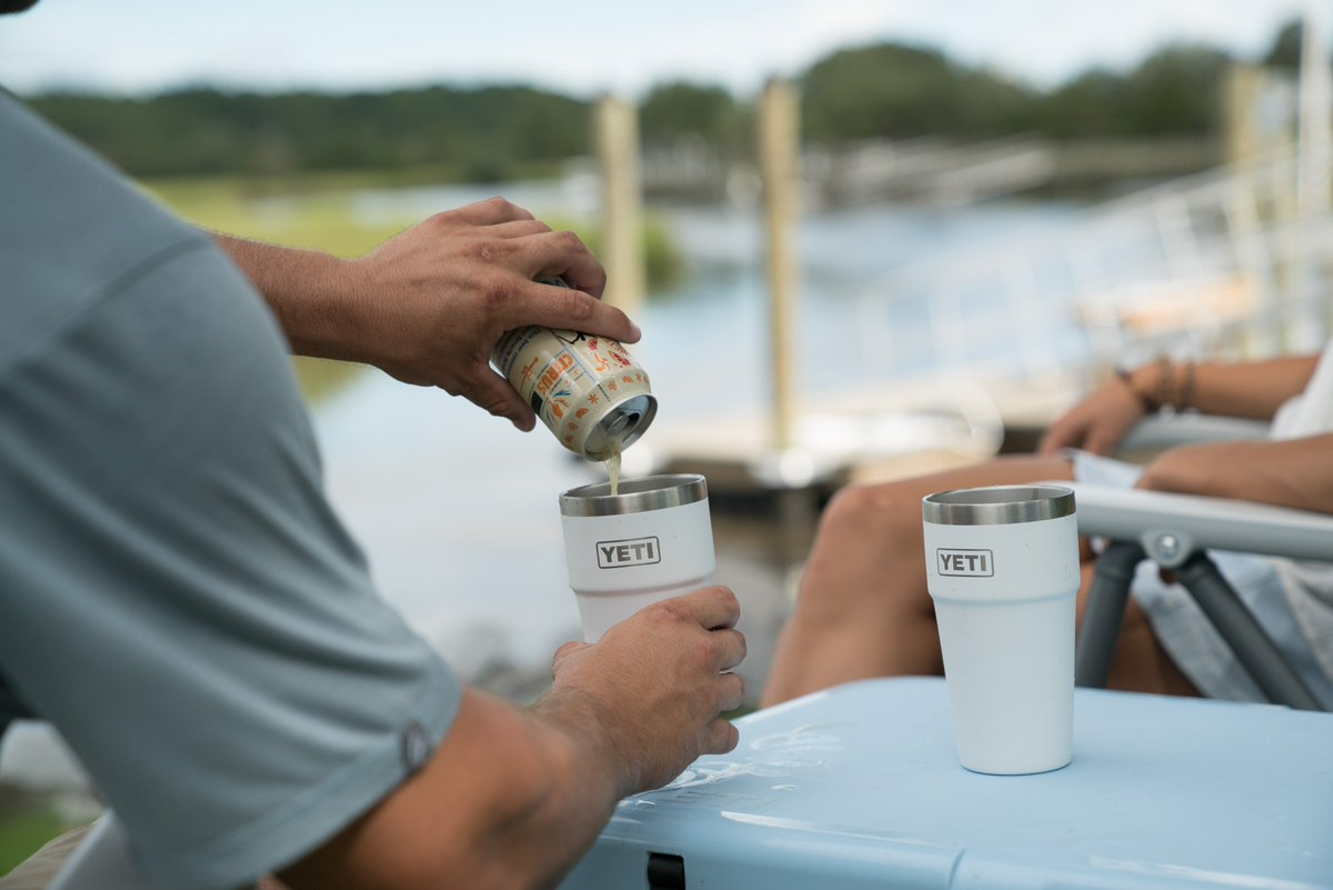 33602c59f7f The new YETI Rambler 16 oz. Stackable Pints are insulated, rugged, and  built with camp beers in mind. Get yours here - http://bit.ly/Rambler-Pints  ...