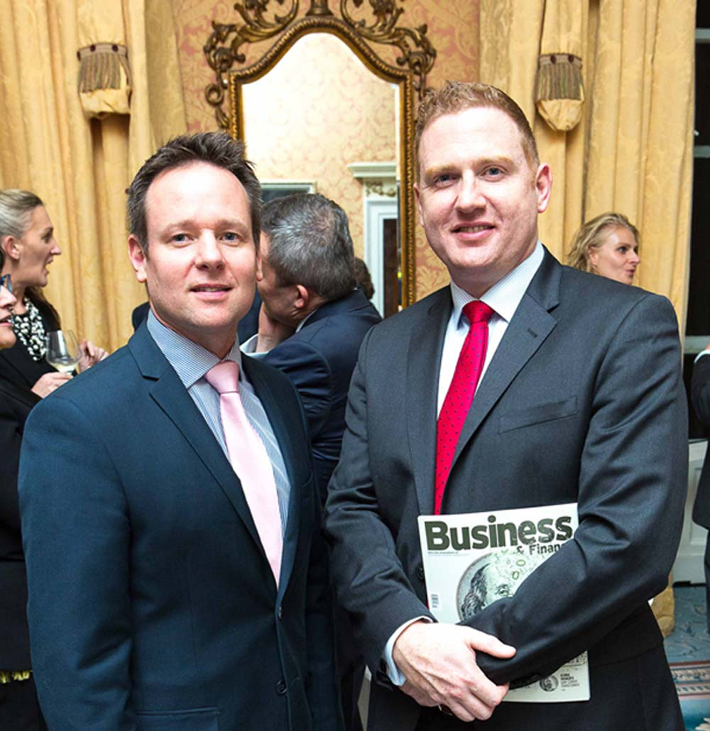 Ronan Stewart of Santos Dumont was included in last year's CEO 100 list. We are releasing 2018's CEO 100 list this week at @theshelbourne. Express your interest in attending: susan.scannell@businessandfinance.com