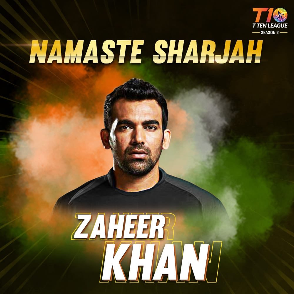 New format! New challenge!! Excited and looking forward to be back on the field in @T10LeagueTweets from the 21st November to 2nd  December #NamasteSharjah #BusAbDus #T10League