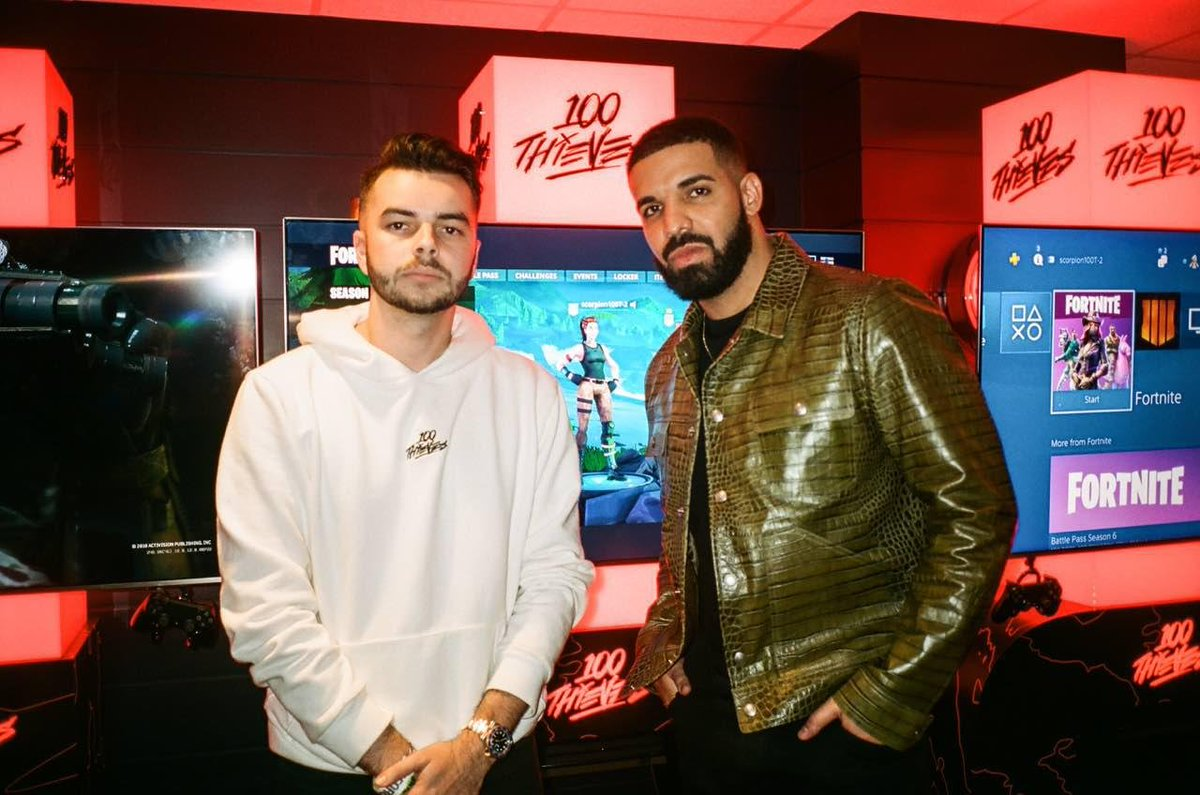 100 Thieves Raises Series A, Drake and Scooter Braun Join As Co-Owners. ...