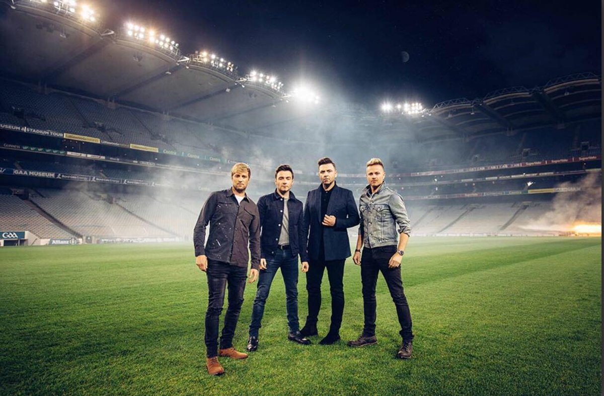 New @westlifemusic images credit to @EVOKE  - looks like @ShaneFilan won the #SelfieWar as his image made it into the press 😆😆😆 well done Shane 👏👏👏