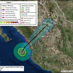 Image for the Tweet beginning: #hurricane Willa @NWSNHC: storm surge