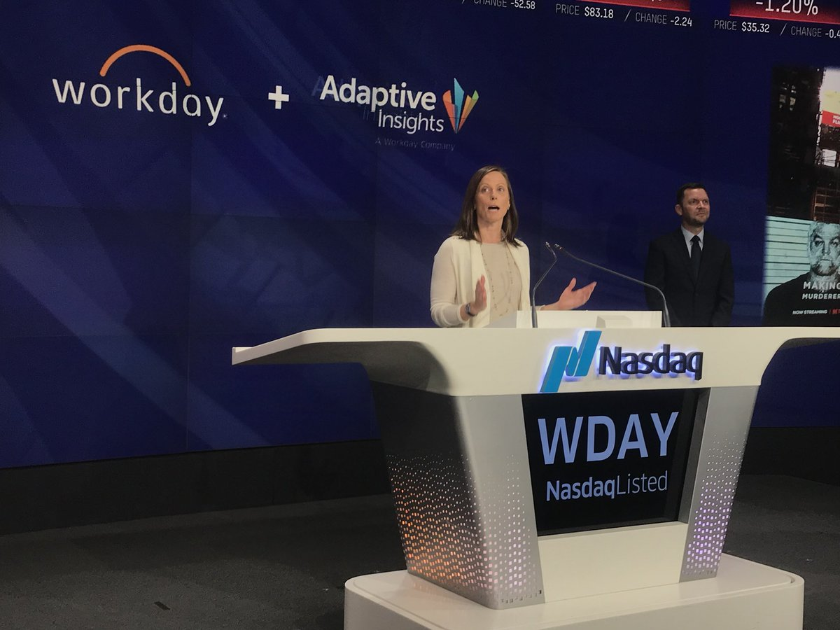 'We are incredibly proud to be your partner and your customer.'  ⚡️Says Nasdaq CEO @adenatfriedman  #RewriteTomorrow